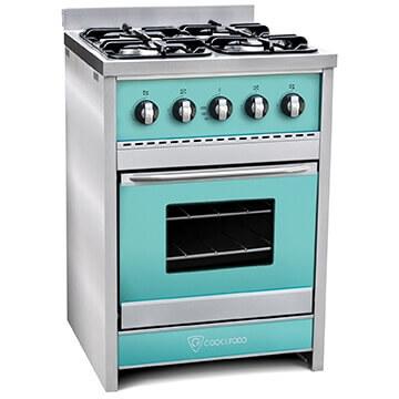 Cocina TST Chiara Verde 60 cm