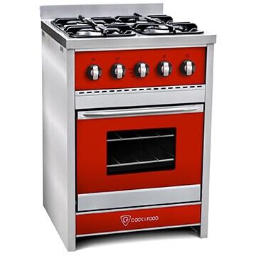 Cocina TST Chiara Rojo 60 cm