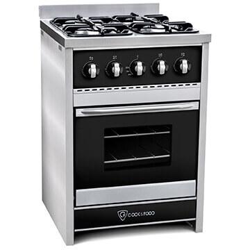 Cocina TST Chiara Negro 60 cm